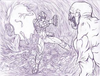 Dead Space 2 Fan Art by Vzamm