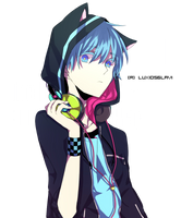 Anime Boy Render by Luxio56Lavi