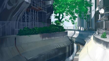 Shibuya River by kskb