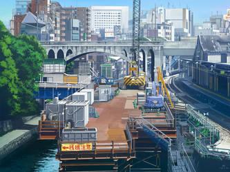 Hijiribashi Bridge by kskb