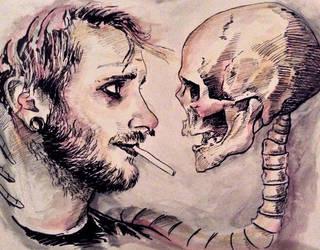 Death's Whiskers by RubyRyn