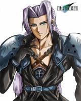 Final Fantasy Sephiroth by godaiking