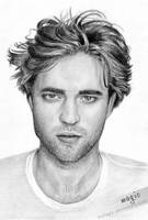 Robert Pattinson by llvllagic