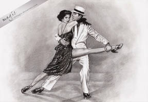 Fred Astaire by llvllagic