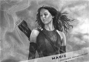 Katniss by llvllagic