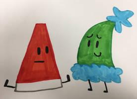 Megaphone and Green Santa Hat  by xXShinyLeafXx