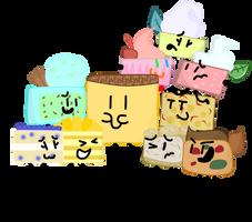 The Cakes! by xXShinyLeafXx