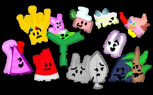Main Characters  by xXShinyLeafXx