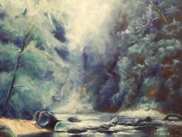 Misty River by mp2015
