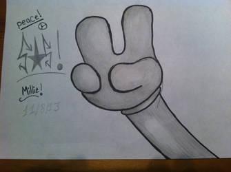 Peace by luckykitty6