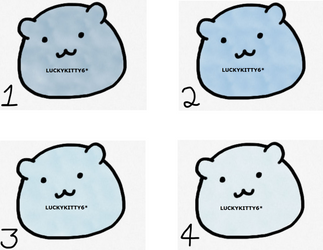 Pudy Hamster Adoptables batch 2 {6 points each} by luckykitty6