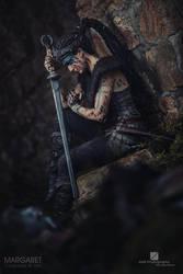 Senua from Hellblade by Margaret Cosplay by MargaretCosplayArt