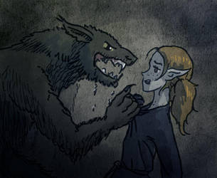 A date with werewolf 1 by TheBalrog
