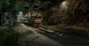 Abandoned Train Station by Nacho3