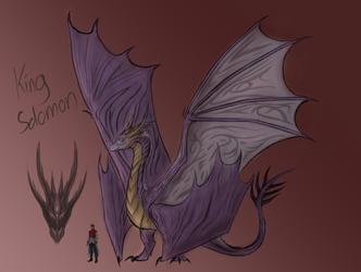 DNA DragonVerse: King Solomon by amplifang765