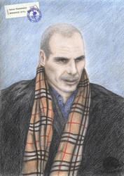 Yanis Varoufakis by Taira2032