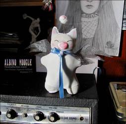Albino Moogle by Taira2032