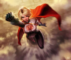 Power Girl by dKeeNo44