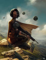 Rogue Bounty Hunter by dKeeNo44