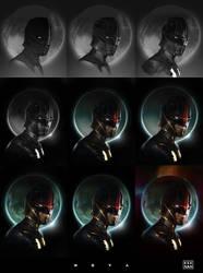 Nova Painting Process by dKeeNo44