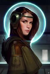 Star Wars  Rebel Spy  by dKeeNo44