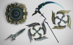 ESFERA: the Weapons by VyZeL