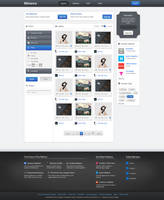 Behance.net - Redesign by Czarny-Design