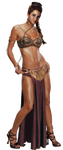 Slave Princess Leia by robsola