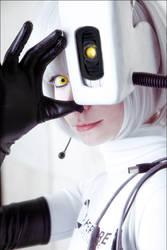 GLaDOS cosplay by Tenori-Tiger