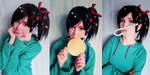 Vanellope cosplay Wreck-It Ralph by Tenori-Tiger