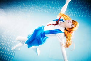 Evangelion cosplay Asuka Langley by Tenori-Tiger