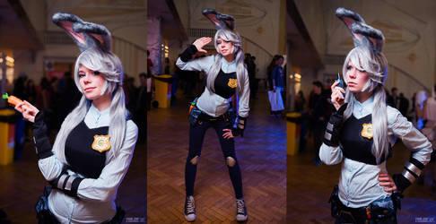 Judy Hopps cosplay Zootopia by Tenori-Tiger