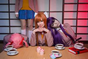 Doki Doki Literature Club Cosplay by Tenori-Tiger