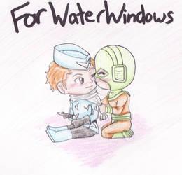 Art Trade with Waterwindow by FullmetalApollo