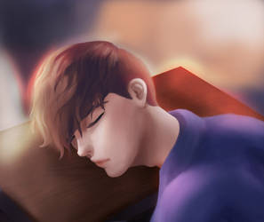 You look kind of pretty when you sleep by IlumiasMoon