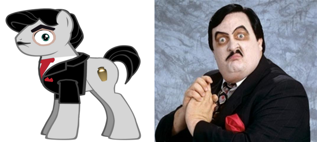 Ponified Paul Bearer (R.I.P.) by kuren247