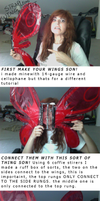 Aw Yiss strapless God-tier wings tutorial by brook-the-cat