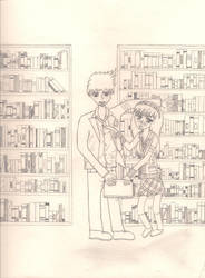 Will and Brooke_ Library by Ash-a-bash