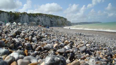Dieppe - semi plage de galets by TyKayn