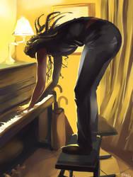 Elle jouait du piano debout by TyKayn