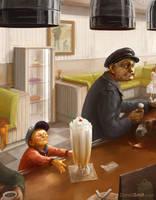 Icecream shop by davidsmit