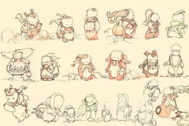 Hippie designs by davidsmit