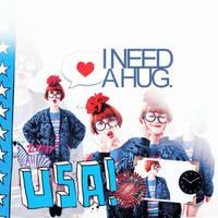 USA i need a hug. by skykeys