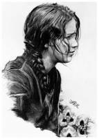 Katniss Everdeen by FinAngel
