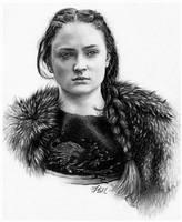 Sansa Stark by FinAngel