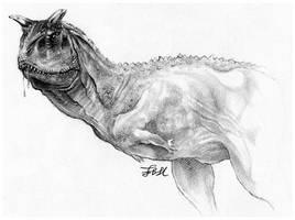 Carnotaurus by FinAngel