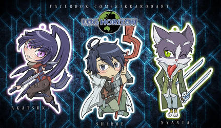 Charms: Log Horizon by nikkaroo