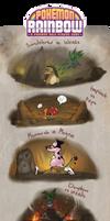 Pokemon Rainbow: Gym battle 1 by Morthern