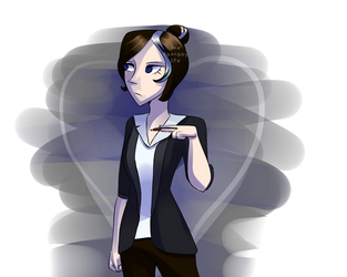 Glitchtale Jessica redesign by TheFanta-syLife