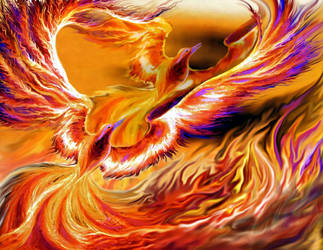 Phenix of fire by Stolvezen
